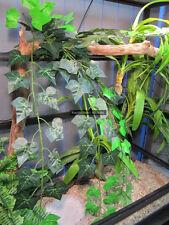 ZCL-025 Artificial Vine Plant Reptile Enclosure Snake Lizard Reptile Frog 80cm