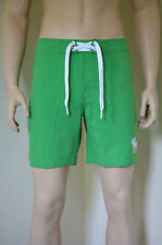 Abercrombie & Fitch Morgan Montaña Swim Board Shorts Verde L RRP £ 54