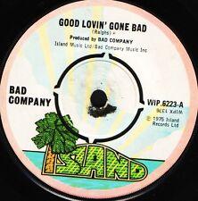 """BAD COMPANY good lovin' gone bad/whiskey bottle WIP 6223 uk 1975 7"""" WS EX/"""