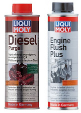 Liqui Moly Diesel Service Kit Diesel Purge 500ml & Engine Flush Plus 300ml