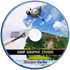 Neu Gimp Pro Foto Retuschieren Digital Bild Editing Grafik Design Software CD