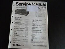 Original Service Manual Technics SU-V570