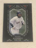 2009 TOPPS STERLING MANNY RAMIREZ #65 #d/250 BLACK BORDER