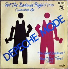 Maxi 33t Depeche Mode - Get the balance right ! Combination mix