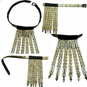 Medieval Brass Armour Roman Legionary's Belt Men's Leather Gladiator flip strip