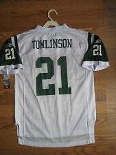 NEW REEBOK New York Jets # 21 LaDainian Tomlinson YOUTH Jersey size Large 14-16