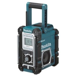 Makita DMR106 solo G-Serie Baustellenradio (Uhrzeitanzeige, Display, Bluetooth)