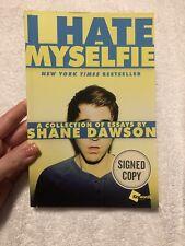 Autographed Shane Dawson Book, 'I Hate Myselfie'