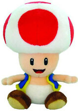"Genuine  Nintendo Mario Run Super Mario - 6"" Toad Stuffed Plush Doll"
