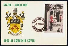 Mayfairstamps Scotland FDC 1977 Coat of Arms The Queens Guards First Day Cover w