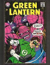 "Green Lantern #56 ~ ""Green Lantern's Fight For Survival!"" 1967 (5.5) WH"