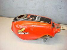HONDA XR 200 1980-1982 FUEL GAS PETROL TANK RED BLACK 175A1-446-771 AHRMA ENDURO