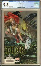 Thor #11 CGC 9.8 Johnson Marvel Vs Alien Variant