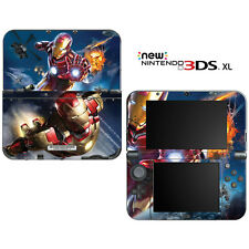 Iron Man Superhero for New Nintendo 3DS XL Skin Decal Cover