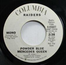 Rock Promo 45 Raiders - Powder Blue Mercedes Queen / Powder Blue Mercedes Queen