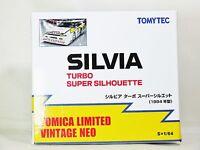 TOMICA TOMYTEC VINTAGE NEO NISSAN SILVIA TURBO SUPER SILHOUETTE 1984 Ver Yellow