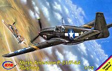 MPM 1/72 North American P-51/F-6A Mustang # 72085