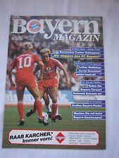 Orig.PRG   1.BL   1984/85   FC BAYERN MÜNCHEN - WALDHOF MANNHEIM  !!  SELTEN