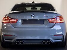 BMW Série 4 Coupé de fibre de carbone Spoiler pour s'adapter 2014 + F82 M4 Trunk Boot lid