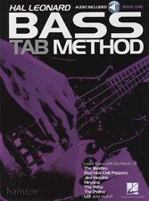 Hal Leonard Bass TAB Method 1 Book/Audio Beginner Learn How to Play Bass Guitar