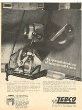 1970 ZEBCO REELS MAGAZINE AD     AN OPEN AND CLOSED CASE