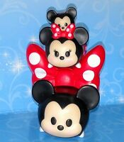 Mickey & Minnie & Mickey Mouse Tsum Tsum Stack vinyl Bow Stand Mystery Disney