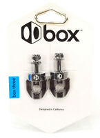 Box Components Three 3 Chain Tensioners Pair Black for BMX & Fixed Gear Bikes