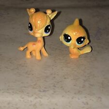 Littlest Pet Shop Mini Pets 2-Piece Set Lofty Sunglow #3 Saffron Flutterdust #4