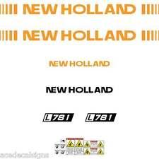 New Holland L781 L783 L785 Skid loader repro decals stickers