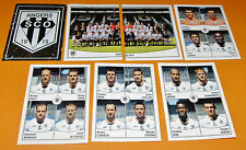SCO ANGERS JEAN-BOUIN COMPLETE LIGUE 2 2010 PANINI FOOT 2011 FOOTBALL 2010-2011