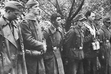 WW2 -  SS  français prisonniers de la 2° DB en Allemagne
