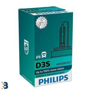 Philips X-treme Vision 150% mehr Ansicht Xenon D3S Glühbirnen Single 42403XV2C1