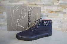 NAPAPIJRI 43  9 JAKOB Schnürschuhe Sneakers Schuhe vintage blau neu ehem.UVP139€