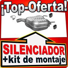 Silenciador Trasero OPEL VECTRA C 2.2 16V Sedán Hatchback 02-04 Escape TUX
