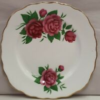 Colclough China Royal Vale Bone China Roses Side Plate c1945-48 Made in England