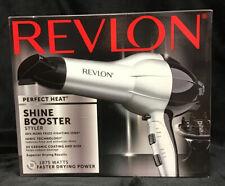 Revlon Perfect Heat 1875W Shine Booster Styler Hair Dryer New In Box