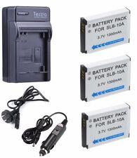 SLB-10A Battery For Samsung SL820 TL9 IT100 ES60 ES55 L310W WB105F WB151F WB200F