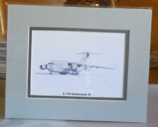 """C-17A """"City of St Louis"""" 8X10 Matted Open End Edition Print by Willie Jones Jr"""