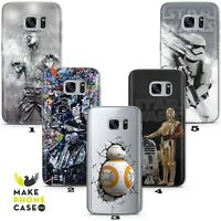 Star Wars Han Solo BB8 Darth Case Cover Galaxy A71 A31 A3 A5 A7 A8 J3 J5 J6 J7
