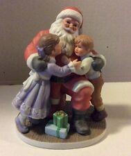 "Enesco Figurine 1992 - "" Thank You Santa """