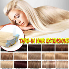CLEARANCE Seamless Tape in 100% Remy Human Hair Extensions Full Head Skin Weft