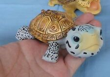 Super Q Diamondback terrapin turtle Tortoise Resin Model Figurine Figure 11cm