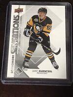 2017-18 Upper Deck Sophomore Sensations Jake Guetzel #SO-JG Pittsburgh Penguins