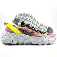 W Nike Space Hippie 04 Lemon Venom Black Pink Grey CD3476-700 Women's 10-11