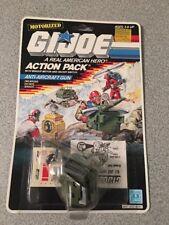 GI Joe Vintage 1987 Motorized Action Pack Anti-Aircraft Gun MOC RARE