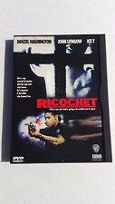 Ricochet (DVD, 1998) Denzel Washington John Lithgow Ice T Action Thriller Used