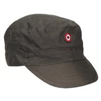 Original Austrian army surplus uniform  cap with badge ripstop