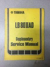 Yamaha 1977 Supplementary Service Manual LB80IIAD /Motorcycle Repair Maintenance