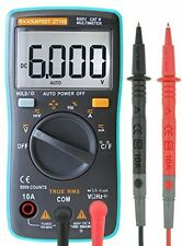 KASUNTEST Mini Auto Ranging Digital Multimeter 6000 Counts TRMS Portable Tester