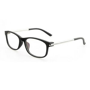 Men Women Eyeglass Frame Metal Full Rim Clear Lenses Glasses Spectacles Rx able